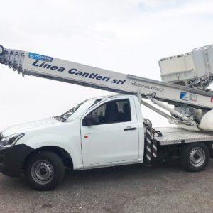 Italia Elevatori consegna una PE250U alla ditta Linea Cantieri