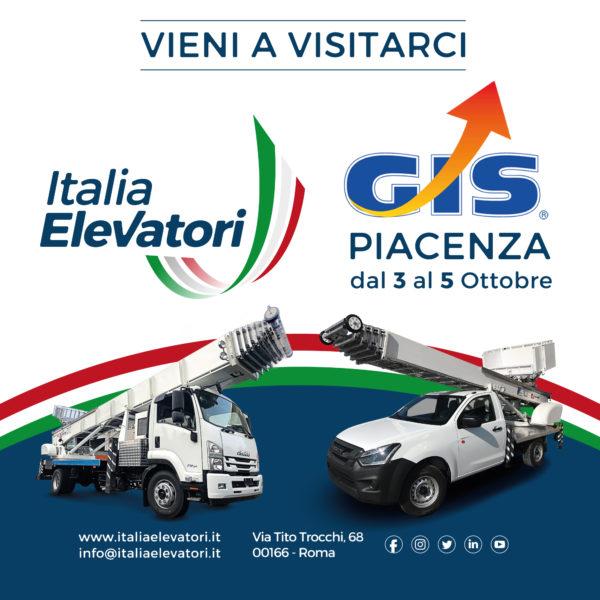 Italia Elevatori espone in Fiera al GIS 2019